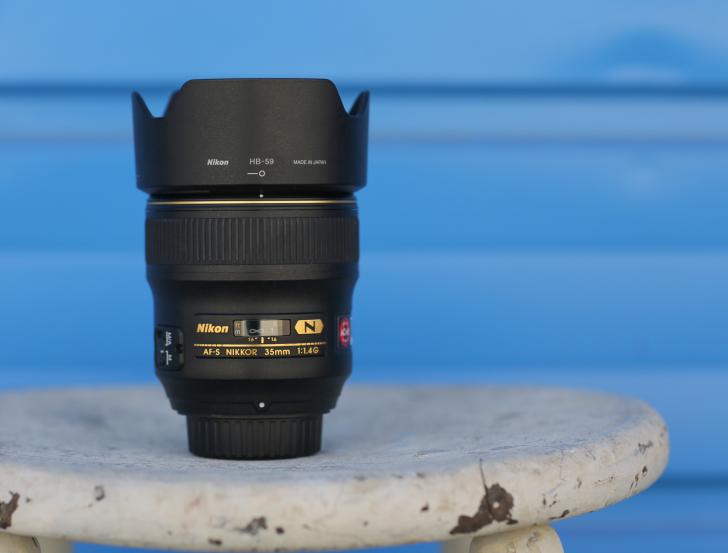 Nikon 35 f1.4 AF-S Lens